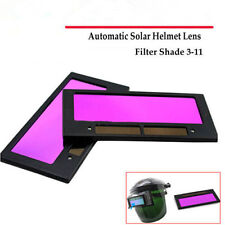 "4-1/4"" x 2"" solar Auto Darkening Welding Helmet/Mask Lens Filter Shade 3-11 TO"