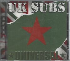 UK SUBS - UNIVERSAL - (still sealed cd) - AHOY  CD 204