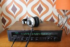 ROTEL RX-402 STEREO AMPLIFIER RECEIVER VINTAGE AUDIO RETRO RADIO HI-FI RECORD