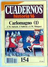 CUADERNOS HISTORIA 16 - Nº 154 - CARLOMAGNO I - VER DESCRIPCIÓN E ÍNDICE