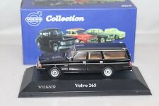 Atlas 1:43 Volvo 265 Diecast models car Collection Black