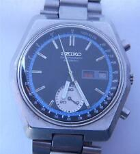 Vintage Seiko Automatic Chronograph 6139-7080 Tachymeter Day/Date - Mens Watch