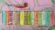 18er Minipalette - Auroshikha hochwertige Räucherstäbchen Räucherwerk aus Indien