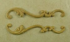 EMBOSSED WOOD APPLIQUE / ONLAY #758 1 3/8 X 7 5/8
