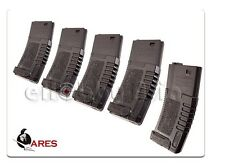 ARES Amoeba 140rd S-Class Mid-Cap ABS Magazine mag M Series Airsoft AEG [5PCS]