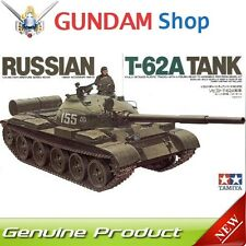 TAMIYA Russian T-62A Tank 1/35 Military Miniature Series No. 35108 JAPAN