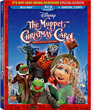 Disney Henson Dickens The Muppet Christmas Carol Movie on Blu-ray & Digital Copy