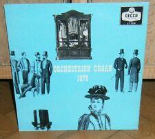 """Imhof & Mukle: Orchestrion Organ 1879. '58 Decca UK 10"""" Lp"""