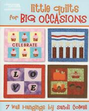 Little Quilts for Big Occasions Miniature Patterns Book Wall Hanging Holiday