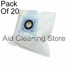 Dust Bags for Bosch GL30 Pro Energy Vacuum Cleaners, Pack 20 + 4 filter 4xA234