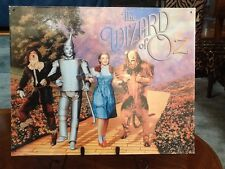 "Wizard of Oz Metal Sign ~15"" x 12"" ~ Scarecrow ~Tin Man ~Dorothy ~Cowardly Lion"