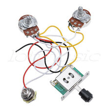 Guitar Prewired Wiring Harness for Fender Tele Parts 3 Way Toggle Switch 250K