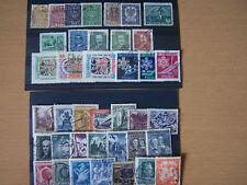 39 diferentes sellos antiguos de Polonia.