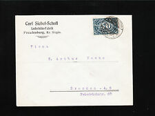 Germany Carl Siebel-Scholl Hide Glue Factory Freudenberg 1923 Cover æ