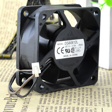 Delta DSB0612L 7W16 DC12V 0.12A 6CM 6025 60mm 60x60x25mm 2Pin Cooling Fan