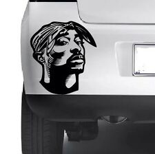 2Pac TuPac Shakur Car Window Wall Laptop Bumper Cool Stylish Vinyl Decal Sticker