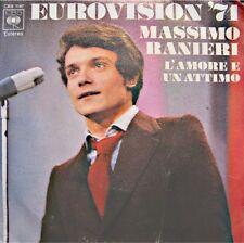++MASSIMO RANIERI l'amore e un attimo/alucia EUROVISION 1971 SP CBS SPAIN VG++