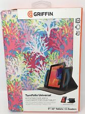 """Griffin TurnFolio Universal Rotating Case For 9-10"""" Tablets And E-Readers"""