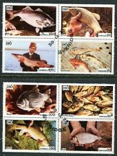 ISO (SWEDEN) 1975 FOOD FISH COMPLETE SET OF 8 STAMPS.