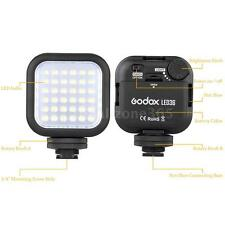 Godox LED36 Video Light 36 LED Lights for DSLR Camera Camcorder mini DVR TZ NS9O