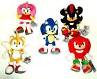 SONIC THE HEDGEHOG SOFT TOY 33cm WITH VARIOUS FRIENDS GENUINE LICENSED