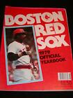 Vintage MLB BOSTON RED SOX BASEBALL 1979 Official YEARBOOK Jim Rice on Cover