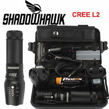 5000lm Genuine Shadowhawk X800 Flashlight CREE XM-L L2 LED Zoom Military Torch