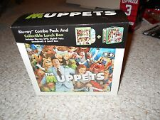 Muppets Movie Lunch Box Tin Kermit Animal Combo Pack Walter 2012 No DVD