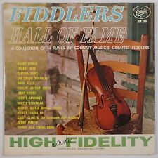 FIDDLERS HALL OF FAME: Benny Martin, Chubby Wise USA Starday Bluegrass OG VG+ LP