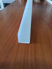 PROFILI IN PVC BIANCO ANGOLARE 15X15X1 DA MT. 2