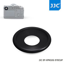 JJC 2 Silicone Eyecup Eyepiece Viewfinder for Fujifilm X-Pro2 Glass wearing user