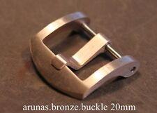 BRONZE BUCKLE 20mm