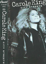CAROLE KING CITY STREETS CASSETTE ALBUM Folk Rock Soft Rock  Pop Rock CAPITOL UK