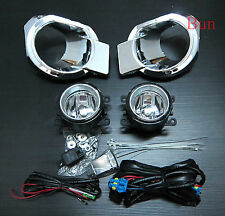 CHROME COVER + Fog Lamp Spot Light for FORD NEW RANGER MK5 T6 PICKUP 2012 2013
