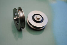 32mm Stainless Steel Doric DR4 Series Ranch Sliding Door Rollers Bearings Wheels