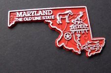 MARYLAND OLD LINE US STATE FLEXIBLE MAGNET APPROX 2 inches