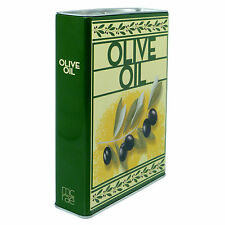 1 only - OIL TIN  with BONUS 144 PAGES COOKBOOK and tea towel