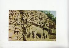 BF17883 mahabalipuram arjuna s penance general view india  front/back image