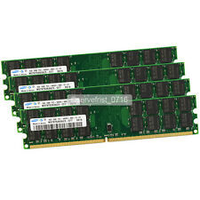 Samsung 16GB 4X 4GB PC2-6400 DDR2 800Mhz 240pin Dimm desktop Memory For AMD CPU
