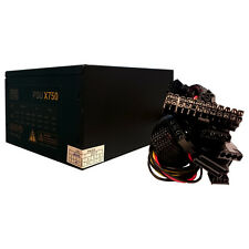 LMS DATA 750W ATX QUIET POWER SUPPLY UNIT, 38 AMPS PEAK, IDEAL FOR HOME & OFFICE