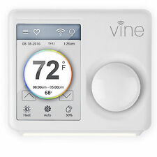 """Xing TJ-610 Vine Smart Wi-Fi Programmable Thermostat w/ 3.5"""" LCD Touchscreen"""