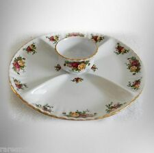 Royal Albert - Old Country Roses - dip and snack plate - FREE SHIPPING