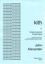 Alexander: kith for unaccompanied double bass RM700