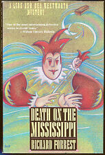 Death on the Mississippi by Richard Forrest-First Edition/DJ-1989