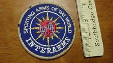 INTERARMS FIREARMS PISTOL RIFLE HUNTING PATCH SKEET BX 13# 16
