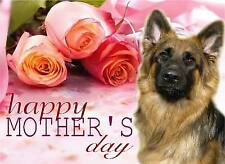 Alsatian / German Shepherd Dog C5 Ultra High Gloss Mother's Day Card MGSD-1