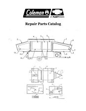 FLEETWOOD Popup Trailer Repair Parts Catalog-2004 Destiny SE Series