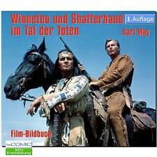 Film BILDBAND Winnetou und Shatterhand im Tal der Toten KArl MAY WESTERN 60er LP