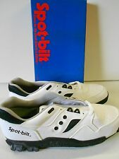 NOS '80's Spot-bilt Multi-Field Cleated Turf Shoes HTG Low Size 14 Men's w/Box