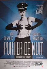 NIGHT PORTER - RAMPLING / BOGARDE - NAKED WOMAN / NAZI - REISSUE LARGE POSTER